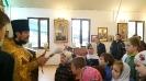 Литургия и молебен на начало учебного года в Воскресной школе