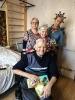 В Рождество прихожане помогли больным и одиноким