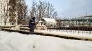 Работы на строительстве храма возобновились после зимних каникул