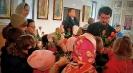 Воскресная школа поздравила отца настоятеля с десятилетием священнического служения